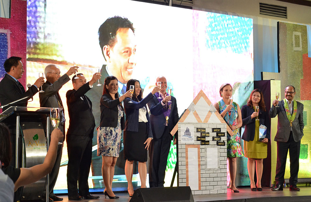 Apo View Hotel supported the 30th year anniversary of Habitat for Humanity Philippines.