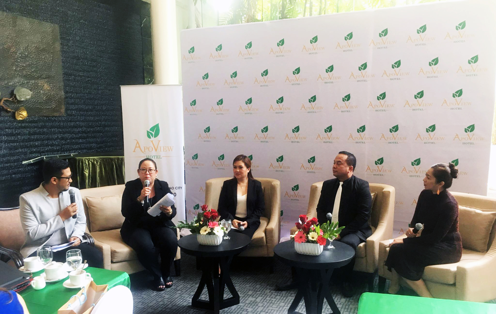 Apo View Hotel Press conference on its 70th Anniversary