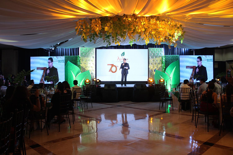 Apo View Hotel's 70th Anniversary Gala Night